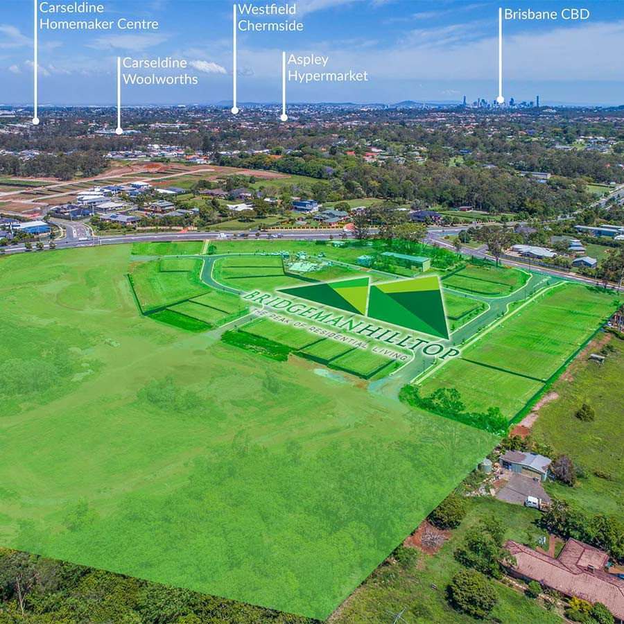 Bridgeman Hilltop Estate - The future of living - Brisbane